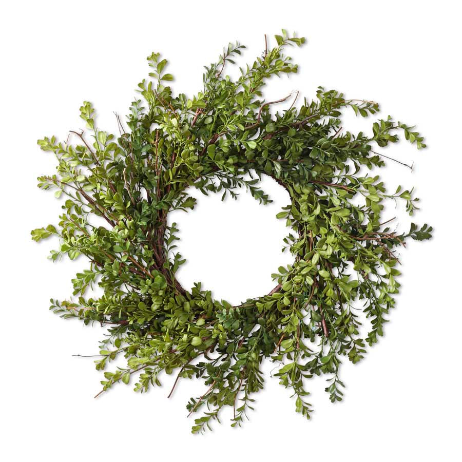 Real Touch Boxwood Wreath