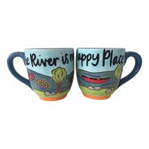 The River Is My Happy Place Mug
