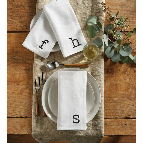 Initial Napkin Sets