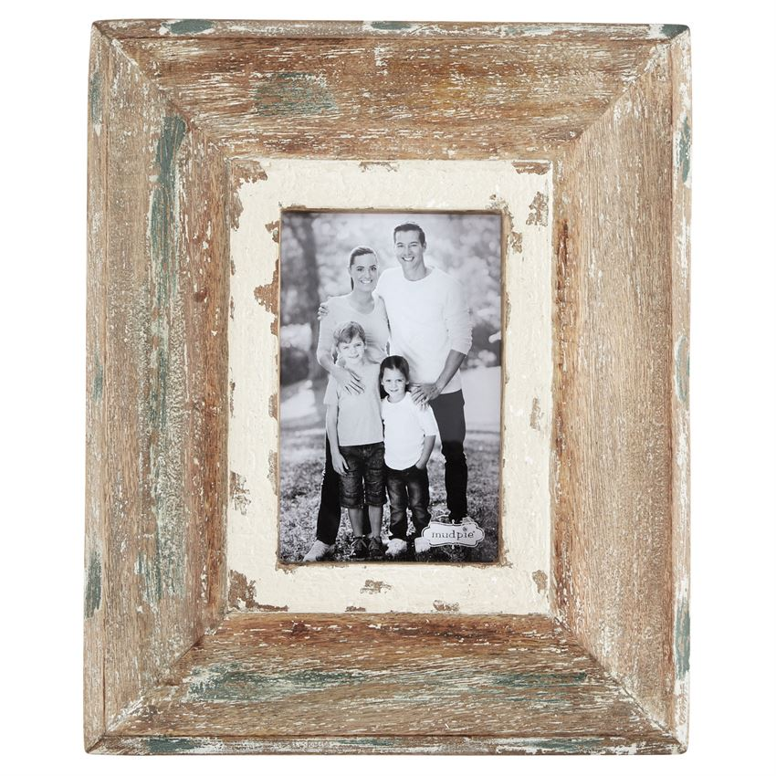 Small Weathered Wood Frame