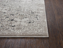 Rocker Cream Distressed Rug