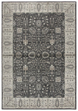 """Well I Reckon"" Gray Distressed Rug"