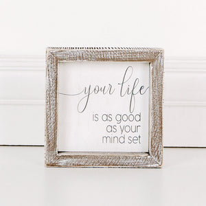 Your Life Wood Sign