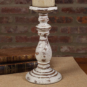 Distressed Chippy Candlestick