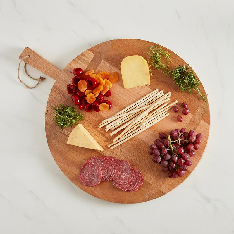 Large Round Charcuterie Board