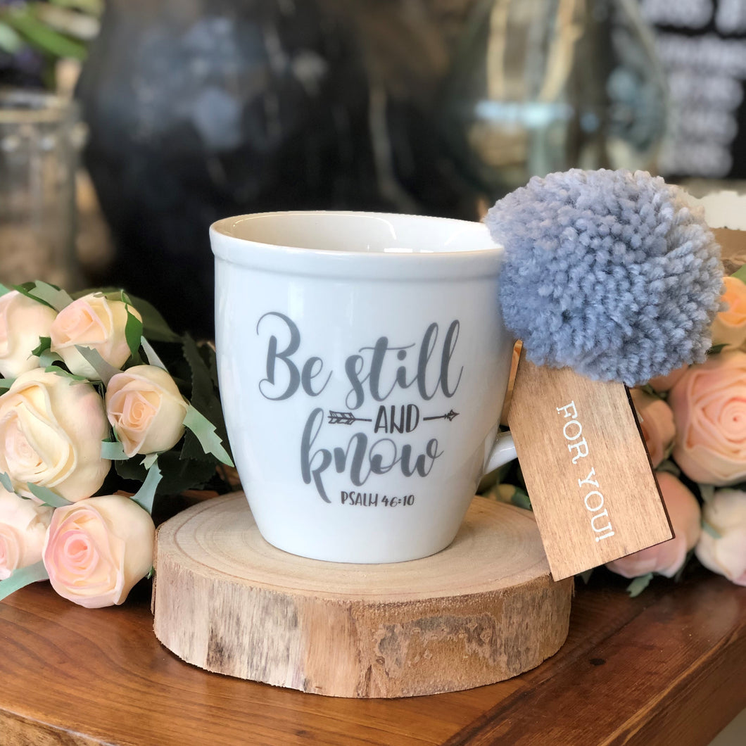 Be Still & Know Mug