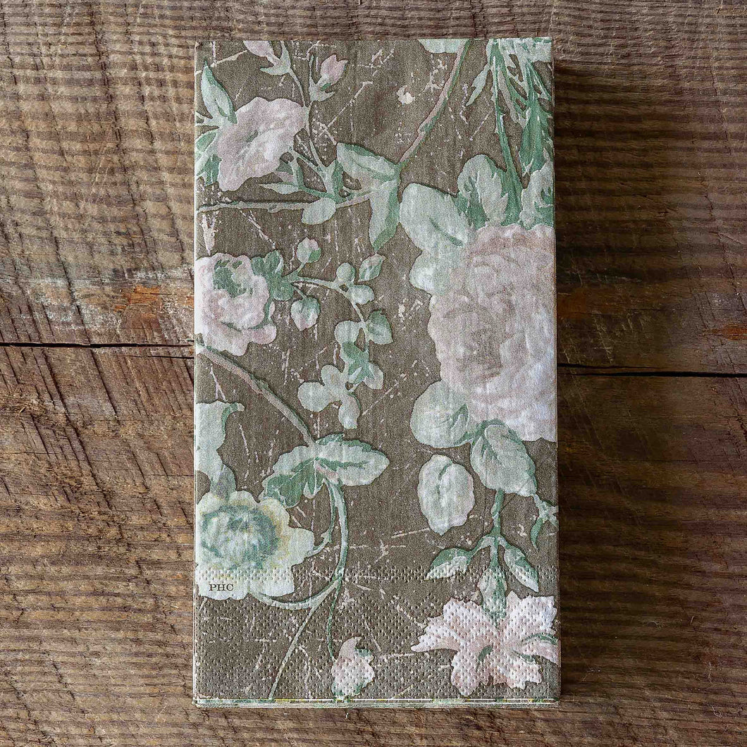 Vintage Rose Paper Dinner Napkins