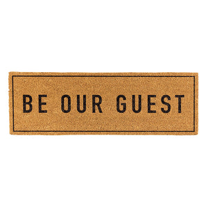 Be Our Guest Door Mat