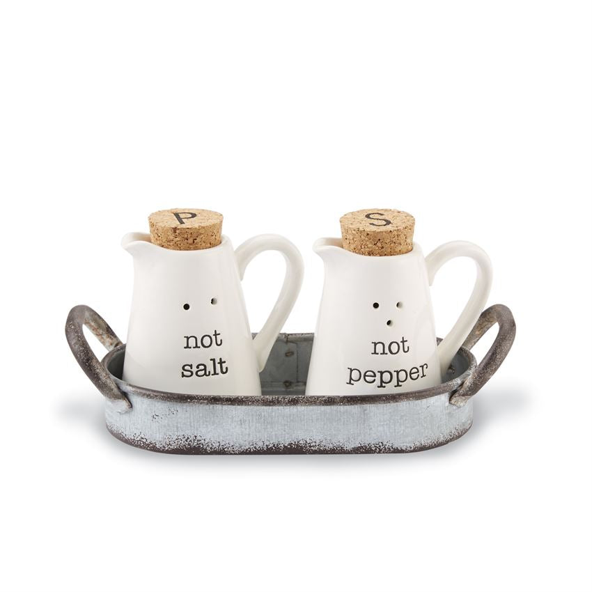 Not Salt & Not Pepper Shakers