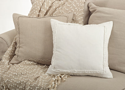 Mini Ruffle Down Pillow