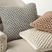 Knitted Down Pillow