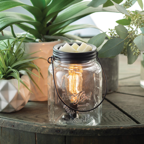 Mason Jar Edison Bulb Fragrance Warmer