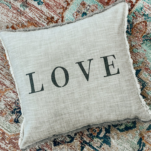 LOVE Euro Pillow