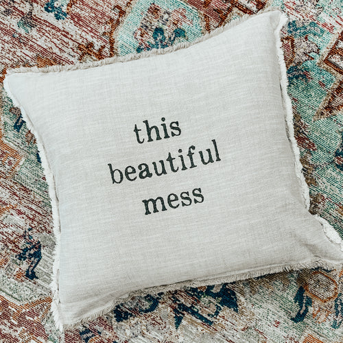 Beautiful Mess Euro Pillow