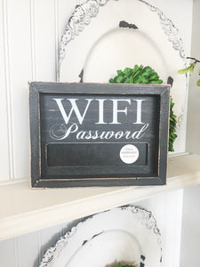 WIFI Password Sign Small