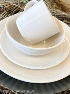 Beaded Dinnerware Collection