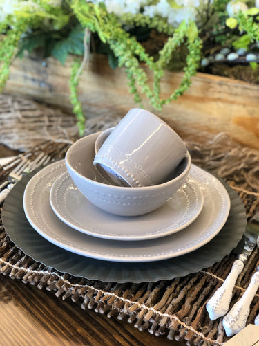 Stone Beaded Dinnerware Collection