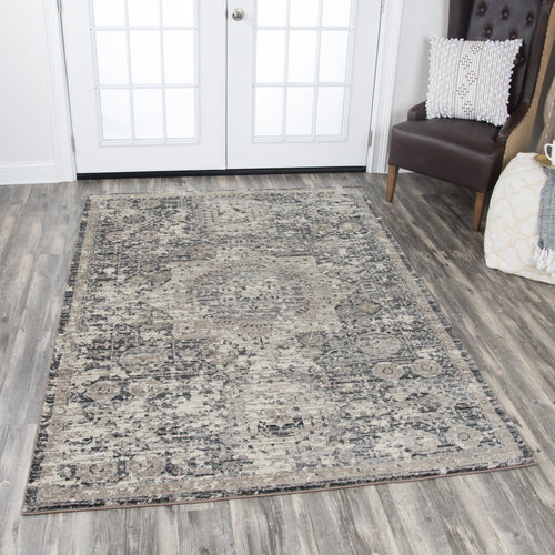 Medallion Distressed Rug