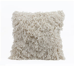 Fringed Square Pillow