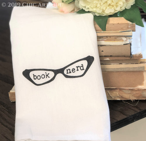 Book Nerd Towel