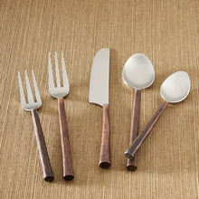 Copper Handle Flatware - 5 Piece Set