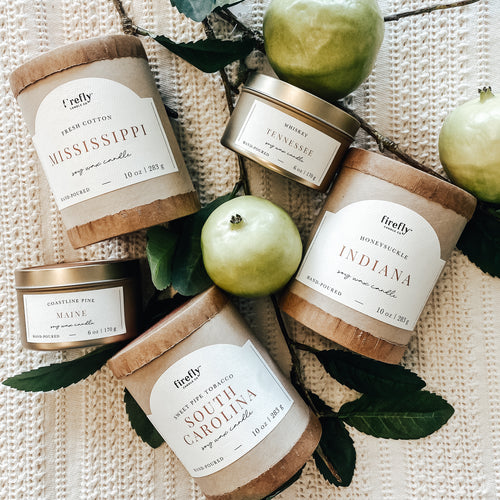 Firefly Candle Destination Series