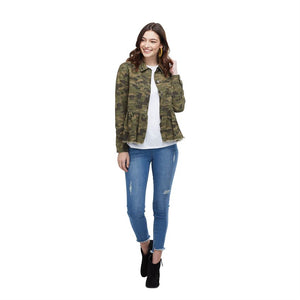 Banks Green Camo Jacket