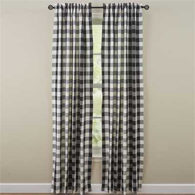 Whitley Check Curtain Panels
