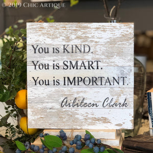 You is Kind Reclaimed Wood Sign
