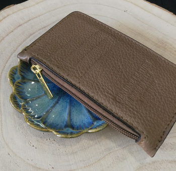 Copy of Leather Card Sleeve - 9 Colours (5190887899270)