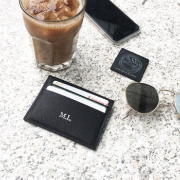 Personalised Black Cardholder (4370650529926)