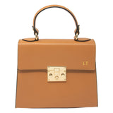 Personalised Leather Top Handle Bag (4260747640966)