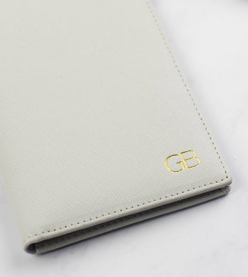 Personalised Grey Passport Holder (5139848626310)