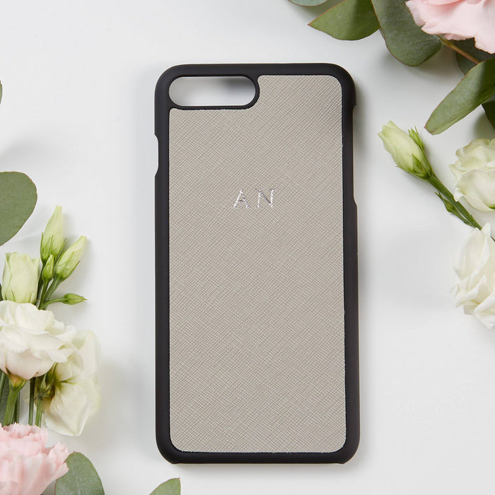 Personalised iPhone Plus Cover - Grey (2213113757758)