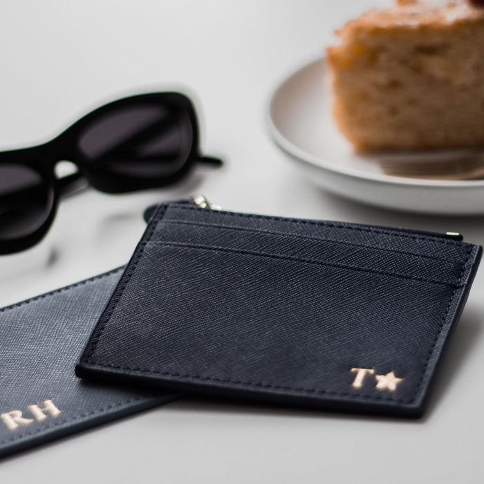 Personalised Zip Card Holder Mini (2213100814398)