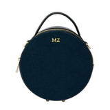 Personalised Leather Round Circle Bag (2213104812094)