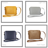 Personalised Leather Cross Body Bag - 18 colours (2213098291262)