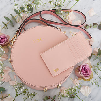 Personalised Zipped Card Holder - Pink (2213112447038)