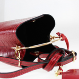 Personalised Croc Ring Handle Bag (4260748689542)