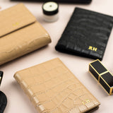 Personalised Croc Leather Passport Holder (5141833056390)