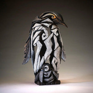 Edge Sculpture Penguin with chick