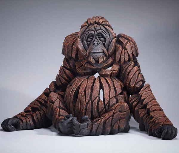 Edge Sculpture Orangutan by Matt Buckley