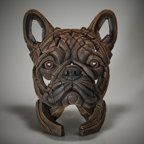 Edge Sculpture French Bulldog Brindle by Matt Buckley