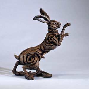Edge Sculpture Hare - Brown