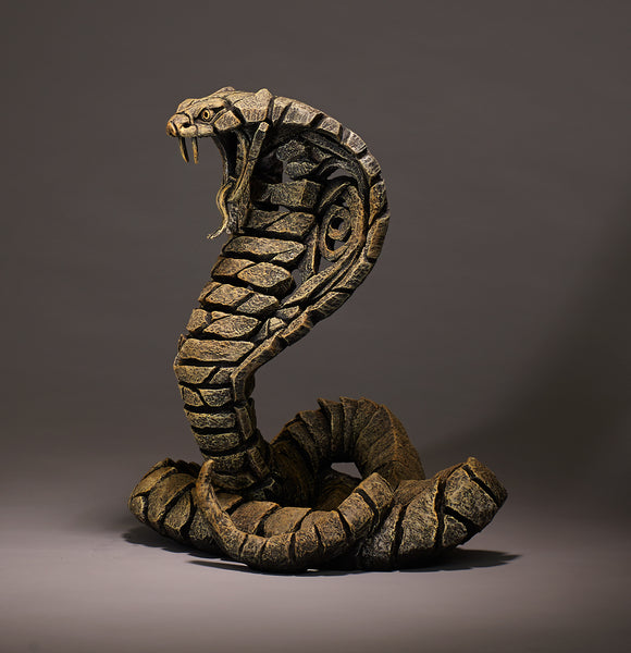 Edge Sculpture Cobra - Desert by Matt Buckley