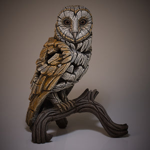 Edge Sculpture Barn Owl by Matt Buckley