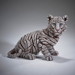 Edge Sculpture - Siberian Tiger Cub by Matt Buckley