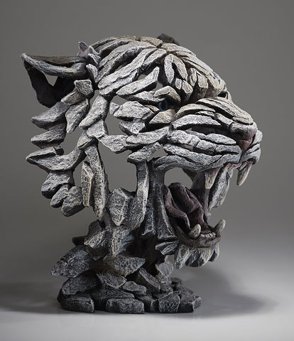 Edge Sculpture Tiger Bust - Siberian by Matt Buckley