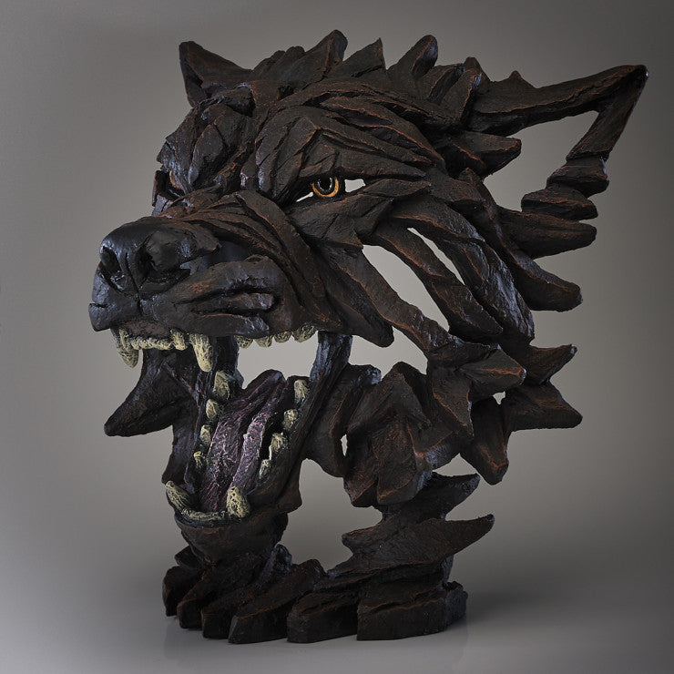Edge Sculpture Wolf Bust Fenrir by Matt Buckley