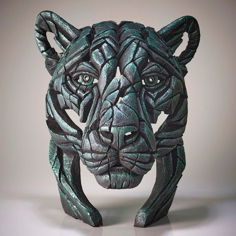 Edge Sculpture Green Dream  Panther Bust Limited Edition by Matt Buckley PreOrder for Late November
